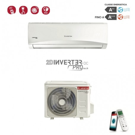 ARISTON 3381273 PRIOS R32 25 MUD0 9000 BTU CLIMATIZZATORE MONOSPLIT WI-FI READY