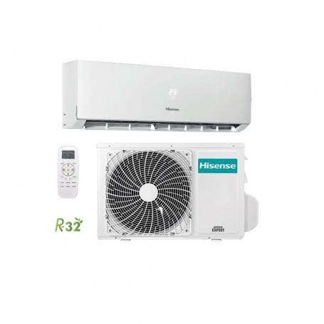 CLIMATIZZATORE HISENSE INVERTER SET NEW COMFORT 2.5KW UI+UE 9000 BTU DJ25VE0A R-32 WI-FI OPTIONAL CLASSE A++