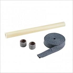 Spazzola /Ø 32 doppio uso pavimento-tappeto cm 27 con rotella di spostamento Accessori e Ricambi Aspirazione Centralizzata Tub/ò Aertecnica SpA