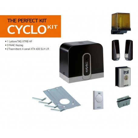 FAAC 105916 CYCLO KIT 24V PERFECT PER CANCELLI SCORREVOLI MAX 400KG
