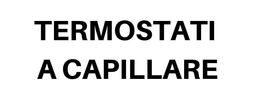 Termometri a capillare
