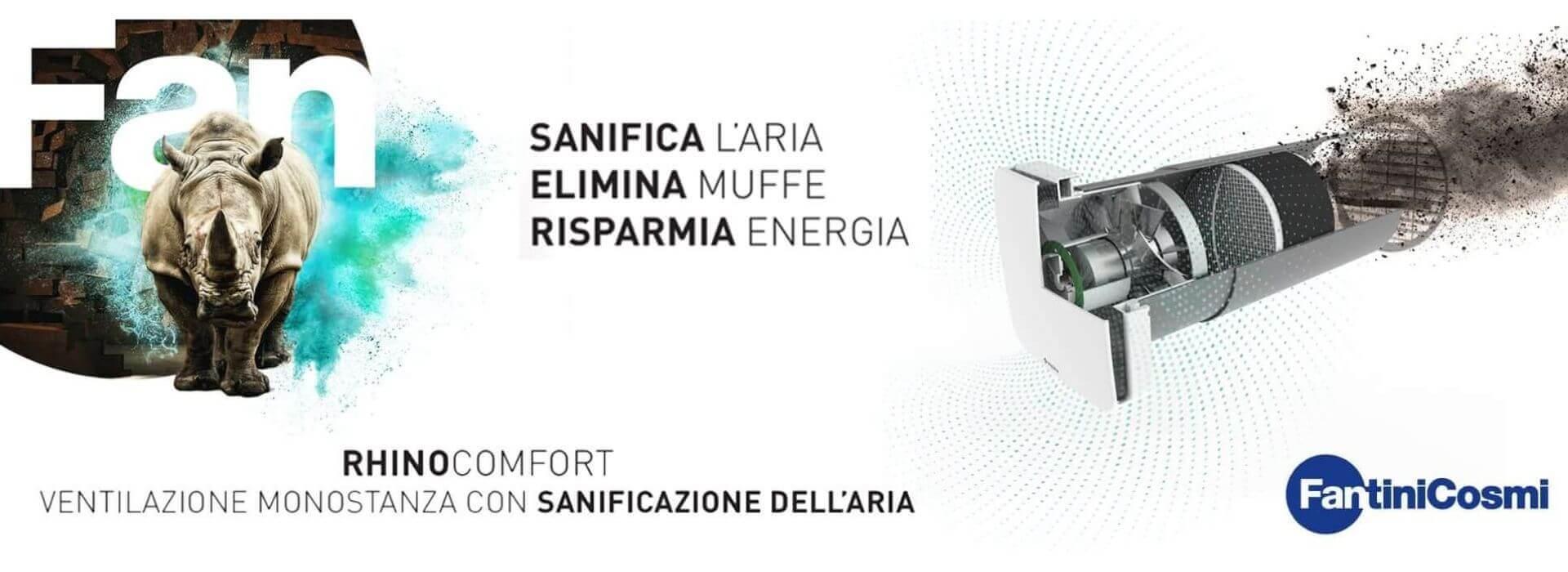 Rihnocomfort by Fantini Cosmi